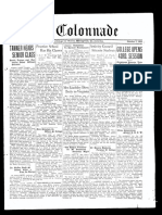 The Colonnade - October 7, 1933