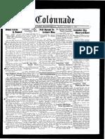 The Colonnade - November 13, 1933