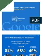 Google Presentation-Hispanic Campaign Traning Summit