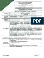 Inducción a Los Sistemas de Gestión Ambiental - Programa