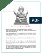 Parad Ganesha Sadhana