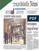 Bernardsville News Front Page Sept 2017-Rotated
