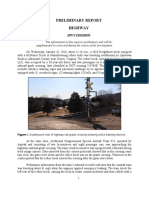 NTSB Report on Train Accident