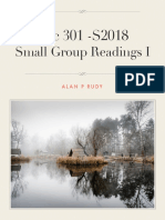 S2018 Small Grp Reads I