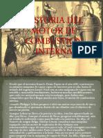 Historia Del Motor de Combustion Interna