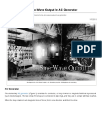 Development of a Sine-Wave Output in AC Generator _ EEP