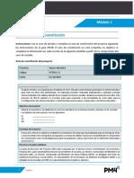 AC20- Modulo 1 Ejercicio Acta de Constitucion