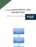 Pengurusan Identiti, Imej Dan Reputasi (1)