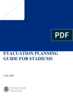 Evacuation Planning Guide Stadiums 508