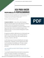 Pemex Fracasa Para Hacer Rentables a Fertilizadoras _ Expansión