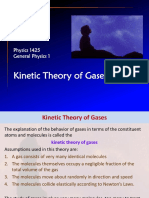 Chapter 18 Kinetic Theory Gases