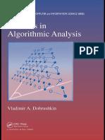 Preview of Methods in Algorithmic Analysis