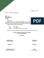 Surat Peminjaman Aula