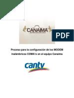 Manual Conexion Inalambrica Cdma1x Comunales