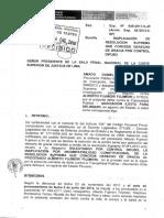 Procuraduría Pública - Derecho de Gracia a Fujimori
