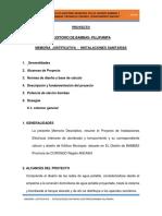 Memoria de Sanitarias Bambas.doc