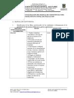 Guia Para La Actualización Del SIE y Manual de Convivencia 2017