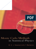 Newman Barkema Monte Carlo Methods in Statistical Physics