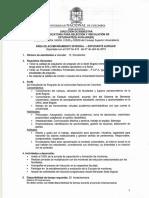 Convocatoria Escuela 2015-2