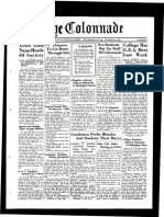 The Colonnade - October 22, 1934