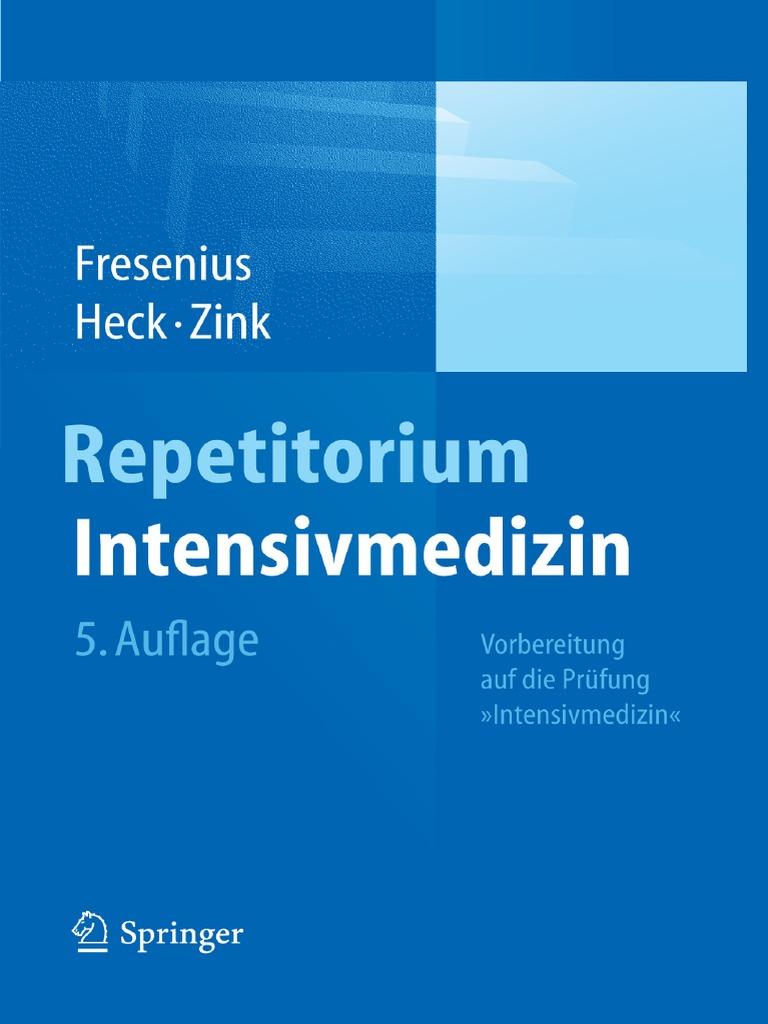 Reparatorium intensivemedizin