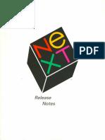 NeXTSTEP 2.0 Release Notes