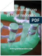 Comenzando Con El Telar Redondo (Spanish Edition)