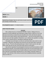 the dirt on painting lesson plan 4th grade amm