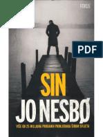 Sin  - Jo Nesbo