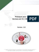 Prerequis Hermes Net V5 2016