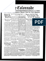 The Colonnade - January 26, 1935