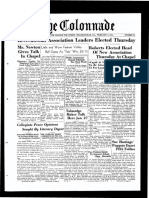 The Colonnade - February 9, 1935