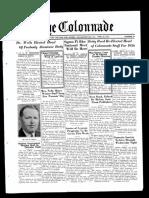 The Colonnade - April 22, 1935