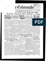 The Colonnade - October 28, 1935