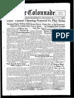 The Colonnade - November 18, 1935