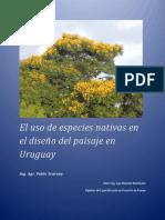 El Uso de Especies Nativas en Diseño Del Paisaje en Uruguay Scarone Pablo