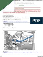 407 - B2BG011GP0 - Dépose - Repose Commande Hydraulique d'Embrayage