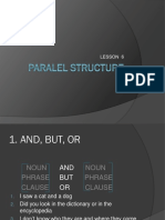 Paralel Structure