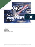 AC-040 Controle e Contabilidade de Custos