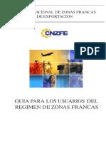 Guia Para Los Usuarios Del Regimen de Zf (1)