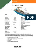 Datasheet Tshd2500 Vostalmg f3