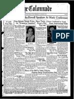 The Colonnade - November 6, 1937