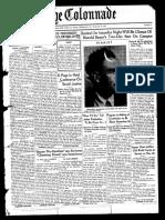 The Colonnade - November 20, 1937