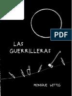 Monique Wittig - Las guerrilleras.pdf