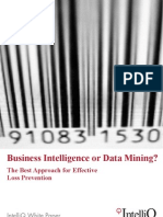 IntelliQ WP BI or Data Mining