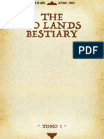 Bestiario No Lands Tomo 1 - Statistiche d20