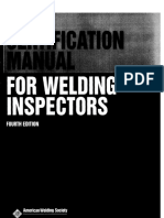 AWSCM Cert.manual WeldInspectors