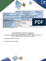 Guia de Actividades - Paso 2 - Mapear Procesos y Hacer La Planificación Estratégica de Calidad