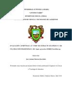 Evaluacion Antifungica in Vitro de Extracto Etanolico ..