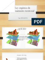 Ley Orgánica de Ordenamiento Territorial Final